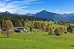 Austria, Styria, Ramsau and Schladminger Tauern mountains   Oesterreich, Steiermark, Ramsau vor Schladminger Tauern