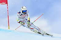 February 17, 2017: Joan VERDU (AND) competing in the men's giant slalom event at the FIS Alpine World Ski Championships at St Moritz, Switzerland. Photo Sydney Low