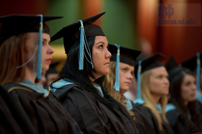 July 13, 2013; Alliance for Catholic Education Commencement ceremony. Photo by Barbara Johnston/University of Notre Dame