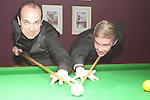 Snooker Exhibition Fergal O'Brien for SODSAD