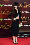 Sara Vega attends to the photocall before the cocktail of the night of the Oscar of Movistar+ at Gran Teatro Principe Pio in Madrid. February 28, 2016. (ALTERPHOTOS/BorjaB.Hojas)