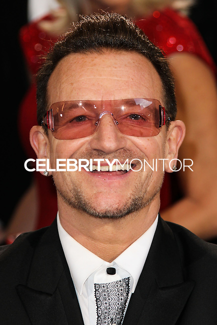 HOLLYWOOD, CA, USA - MARCH 02: Bono at the 86th Annual Academy Awards held at Dolby Theatre on March 2, 2014 in Hollywood, Los Angeles, California, United States. (Photo by Xavier Collin/Celebrity Monitor)