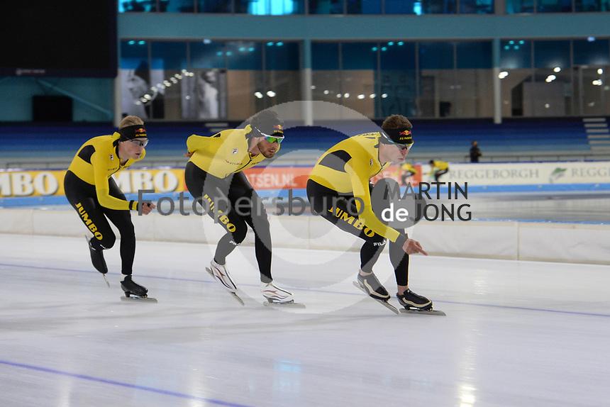 SCHAATSEN: HEERENVEEN: IJsstadion Thialf 02-07-2021, Kamerleden bezoeken training Topsportteams, ©foto Martin de Jong