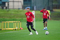 Joe Rodon of Wales during the Wales Training Session at The Vale Resort in Cardiff, Wales, UK. Monday 5 October 2020
