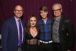 "Richard Ridge, Jennifer Simard, Mark William and Preston Ridge backstage after ""Stigma"" on September 9, 2018 at the Green Room 42 in New York City."
