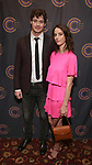 Benjamin Walker and Kaya Scodelario attends The 69th Annual Outer Cirtics Circle Awards Dinner at Sardi's on 5/23/2019 in New York City.
