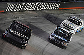 #00: Josh Bilicki, Reaume Brothers Racing, Toyota Tundra, #15: Tanner Gray, DGR-Crosley, Ford F-150 Ford Performance