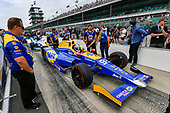 Verizon IndyCar Series<br /> Indianapolis 500 Qualifying<br /> Indianapolis Motor Speedway, Indianapolis, IN USA<br /> Saturday 20 May 2017<br /> Alexander Rossi, Andretti Herta Autosport with Curb-Agajanian Honda<br /> World Copyright: Scott R LePage<br /> LAT Images<br /> ref: Digital Image lepage-170520-indy-1862