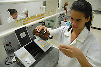 nstalações industriais da Beraca em Ananindeua, laboratório e parte industrial.Ananindeua, Pará, Brasil.Foto Paulo Santos/Interfoto.02/10/2008