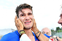 IMOLA, ITALIA - SEPTEMBER 25 : GANNA Filippo (ITA) after the Men Elite Individual Time Trial at the UCI 2020 Road World Championships cycling race in Emilia Romagna Imola, Italia, 25/09/2020 ( Photo by Vincent Kalut / Photo News<br /> <br /> Imola 25/09/2020 <br /> Campionati Mondiali Ciclismo 2020 <br /> Cronometro <br /> Photo Vincent Kalut/Photonews/Panoramic/Insidefoto <br /> ITALY ONLY