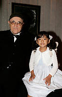 The daughter of  Director  Eiji  Okuda listen who  plays in his movie NAGAI SANPO (A LONG WALK) who won ex-aequo the Grand Prize of the America  at the Montreal World Film Festival (Festival des Films du Monde de Montreal)  2006<br /> <br /> <br /> <br /> <br />  pose with Serge Losique ; President and Founder, Montreal World Film Festival<br /> Photo by Pierre Roussel / Images Distribution