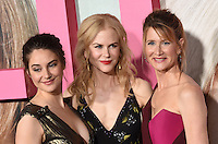 Shailene Woodley + Nicole Kidman + Laura Dern @ the Los Angeles Premiere for the new HBO Limited Series BIG LITTLE LIES held @ the Chinese theatre. February 7, 2017 , Hollywood, USA. # PREMIERE DE LA SERIE 'BIG LITTLE LIES' A HOLLYWOOD