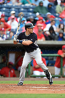 New York Yankees infielder Mark Teixeira (25) during a Spring Training game against the Philadelphia Phillies on March 27, 2015 at Bright House Field in Clearwater, Florida.  New York defeated Philadelphia 10-0.  (Mike Janes/Four Seam Images)