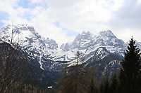 22nd April 2021;  Cycling Tour des Alpes Stage 4, Naturns/Naturno to Pieve di Bono, Italy on 22nd; Brenta Dolomites on the course