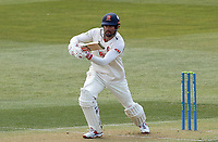 Sir Alastair Cook of Essex in batting action during Essex CCC vs Durham CCC, LV Insurance County Championship Group 1 Cricket at The Cloudfm County Ground on 15th April 2021