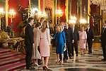 Ana Pastor attends to Sapnish National Day palace reception at the Royal Palace in Madrid, Spain. October 12, 2018. (ALTERPHOTOS/A. Perez Meca)
