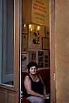 """Michela Buscemi in the House of Memory of Peppino Impastato in Cinisi. She was one of the first relatives of the Mafia victims to constitute a civil party in a process (1986). Michela is a member of the """"Association Women Against the Mafia"""" and is very active in schools both in Italy and abroad. / Michela Buscemi alla Casa della Memoria Di Peppino Impastato a Cinisi. Fu una delle prime parenti delle vittime di mafia a costituirsi parte civile in un processo (1986). Michela è socia dell'Associazione Donne Contro la Mafia ed è molto attiva nelle scuole sia in Italia che all'estero."""