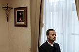 Mario Ćosić, Director der Schule/ Europaschule Schulzentrum des heiligen Josef in Sarajewo. Hier werden Schüler aller Religionen und Ethnien gemeinsam unterrichtet.