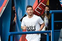 Presentation de Lionel Leo Messi ( 30 - PSG ) - <br /> Paris 14/08/2021 <br /> Paris Saint Germain vs Strasbourg <br /> Football Ligue 1 2021/2022<br /> Photo Federico Pestellini/Panoramic/insidefoto <br /> ITALY ONLY