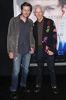 """WESTWOOD, LOS ANGELES, CA, USA - APRIL 10: Waylon Krieger, Robby Krieger at the Los Angeles Premiere Of Warner Bros. Pictures And Alcon Entertainment's """"Transcendence"""" held at Regency Village Theatre on April 10, 2014 in Westwood, Los Angeles, California, United States. (Photo by Xavier Collin/Celebrity Monitor)"""