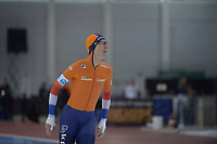 SPEEDSKATING: 13-02-2020, Utah Olympic Oval, ISU World Single Distances Speed Skating Championship, 5000m Men, Jorrit Bergsma (NED), ©Martin de Jong
