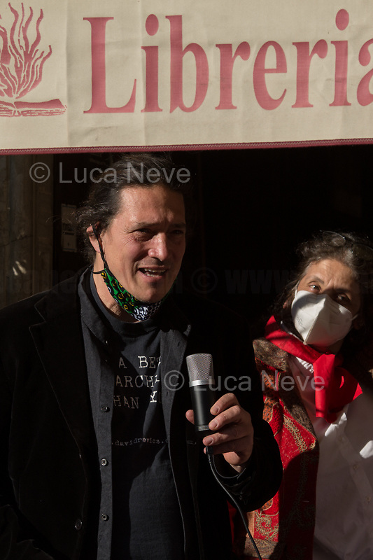 Jacopo Fedi, nephew of Marino Mazzacurati, author of the ANPI symbol.<br />