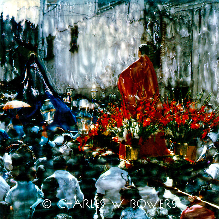 San Miguel de Allende Easter procession.<br /> <br /> -Limited Edition of 50 Prints