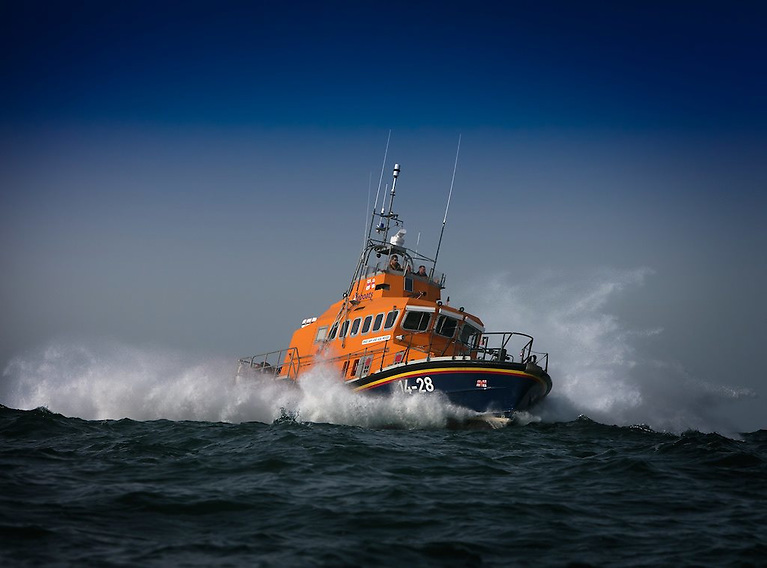 The journey took the all-weather lifeboat, Sam and Ada Moody, past Clare Island and Inishturk, then south to Inishbofin in moderate sea conditions with waves of up to two metres in places