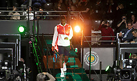 Rotterdam, The Netherlands, 9 Februari 2020, ABNAMRO World Tennis Tournament, Ahoy, Gael Monfils (FRA).<br /> Photo: www.tennisimages.com