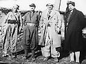 Iraq 196?.General Barzani and on the right, sheikh Latif, son of sheikh Mahmoud.Irak 196?.A droite, 1er, sheikh latif, fils de sheikh Mahmoud, 2eme, Mustafa Barzani