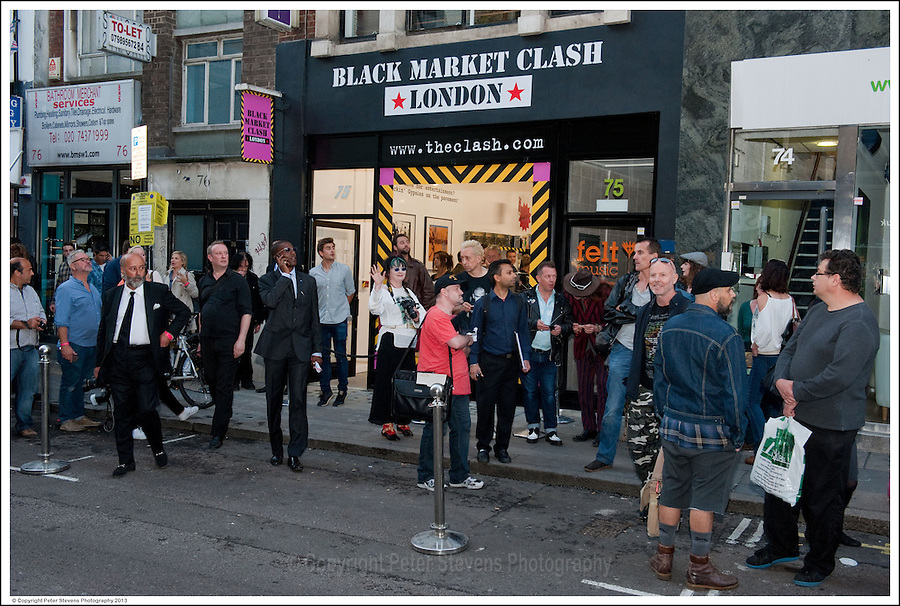 'Black Market Clash' Pop-Up Exhibition