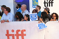 FANS WAITING FOR HALLE BERRY - RED CARPET OF THE FILM 'KINGS' - 42ND TORONTO INTERNATIONAL FILM FESTIVAL 2017