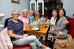 Enjoying the evening in Bella Bia on Saturday, l to r: Dawn O'Sullivan, Stephanie O'Shea, Bridget O'Shea, Caroline O'Sullivan, Susan Sugrue and Stephanie Lawlor (All Tralee).