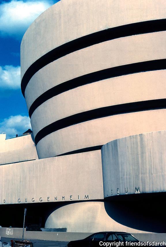 F.L. Wright: Guggenheim Museum.  Photo '78.