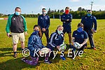 Tralee Rugby coaches getting ready to return to training at the Tralee Rugby club on Saturday morning. Front l to r: Fiona Costello, Edel O'Sullivan and Michelle Smith. Back l to r: Daniel Giles, Tommy Lynch, Declan Smith and Ben Glavin.