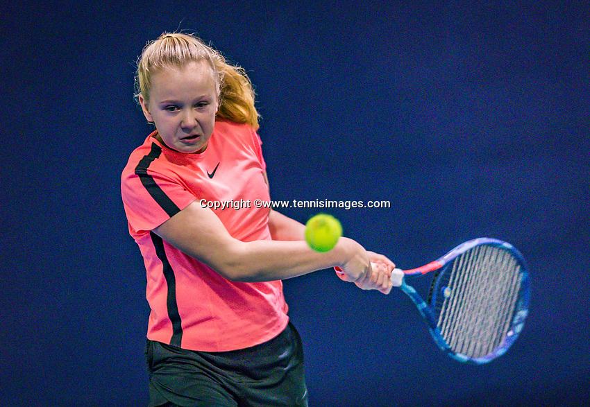 Hilversum, Netherlands, December 2, 2018, Winter Youth Circuit Masters, Britt de Pree (NED)<br /> Photo: Tennisimages/Henk Koster