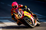 Davy Morgan races the Macau Motorcycle Grand Prix during the 61st Macau Grand Prix on November 15, 2014 at Macau street circuit in Macau, China. Photo by Aitor Alcalde / Power Sport Images