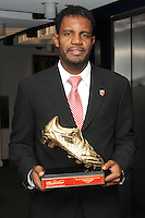 DC United forward Luciano Emilio Budweiser Golden Boot award recipient.  At the 6th Annual DC United Awards Presentation ,at the Atlas Performing Arts Center in Washington DC ,Wednesday October 27, 2009.