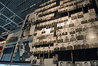 """- 20 years from the nuclear incident of Chernobyl, the Chernobyl museum in Kiev,  portraits of """"Liquidators"""", the civil and military personnel (more than 300.000 persons) that  worked in proibitive conditions and with  insufficient protections in order to put in safety the exploded reactor, very many of them have died subsequently for the effects of radiations..- 20 anni dall'incidente nucleare di Chernobyl, il museo Chernobyl a Kiev, ritratti dei  """"Liquidatori"""", il personale civile e militare (più di 300.000 persone) che operò in condizioni proibitive e con scarsissime protezioni per mettere in sicurezza il reattore esploso, moltissimo di loro sono morti successivamente per gli effetti delle radiazioni"""