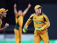 100226 International T20 Cricket - NZ Black Caps v Australia