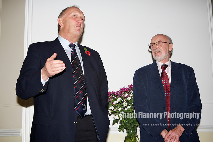 Pix: Shaun Flannery/shaunflanneryphotography.com...COPYRIGHT PICTURE>>SHAUN FLANNERY>01302-570814>>07778315553>>..29th October 2010...........Hesley Hall, Doncaster..Retirement party for Keith Snowden..Steve Lloyd