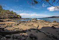 Fine Art Landscape Photograph of the ocean shoreline in Sayulita Mexico. <br />