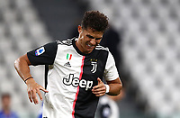 Calcio, Serie A: Juventus - Sampdoria, Turin, Allianz Stadium, July 26, 2020.<br /> Juventus' Cristiano Ronaldo reacts during the Italian Serie A football match between Juventus and - Sampdoria at the Allianz stadium in Turin, July 26, 2020.<br /> UPDATE IMAGES PRESS/Isabella Bonotto
