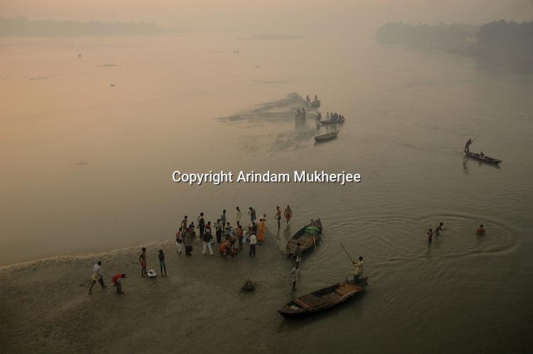Gandak river at Sonepur, Bihar, India, Arindam Mukherjee.
