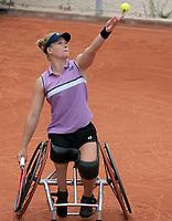 Paris, France, 4 june 2021, Tennis, French Open, Roland Garros, Womans wheelchair singles, First round : Dide de Groott (NED)<br /> Photo: tennisimages.com