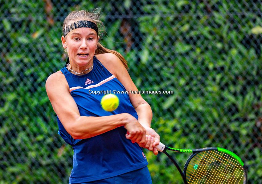 Hilversum, Netherlands, August 8, 2018, National Junior Championships, NJK, Anouk Koevermans (NED)<br /> Photo: Tennisimages/Henk Koster