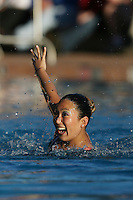 STANFORD, CA - FEBRUARY 7:  Debbie Chen of the Stanford Cardinal during Stanford's 88-78 win against the Incarnate Word Cardinals on February 7, 2009 at Avery Aquatic Center in Stanford, California.