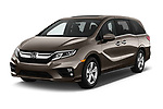 2019 Honda Odyssey EX-L 5 Door Minivan Angular Front automotive stock photos of front three quarter view