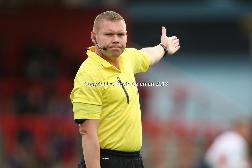 Referee Richard Clark<br />  - Stevenage v Crawley Town - Sky Bet League 1 - Lamex Stadium, Stevenage - 26th October, 2013<br />  © Kevin Coleman 2013<br />  <br />  <br />  <br />  <br />  <br />  <br />  <br />  <br />  <br />  <br />  <br />  <br />  <br />  <br />  <br />  <br />  <br />  <br />  <br />  <br />  <br />  <br />  <br />  <br />  <br />  <br />  <br />  <br />  <br />  <br />  <br />  <br />  <br />  <br />  <br />  <br />  <br />  <br />  <br />  <br />  <br />  <br />  <br />  <br />  <br />  <br />  <br />  <br />  <br />  <br />  <br />  - Crewe Alexandra v Stevenage - Sky Bet League One - Alexandra Stadium, Gresty Road, Crewe - 22nd October 2013. <br /> © Kevin Coleman 2013