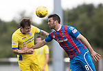 Inverness Caley Thistle v St Johnstone…27.08.16..  Tulloch Stadium  SPFL<br />Paul Paton and Ross Draper<br />Picture by Graeme Hart.<br />Copyright Perthshire Picture Agency<br />Tel: 01738 623350  Mobile: 07990 594431